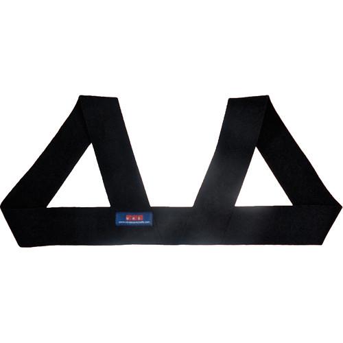 Wireless Mic Belts Shoulder Harness (X-Large / Black)
