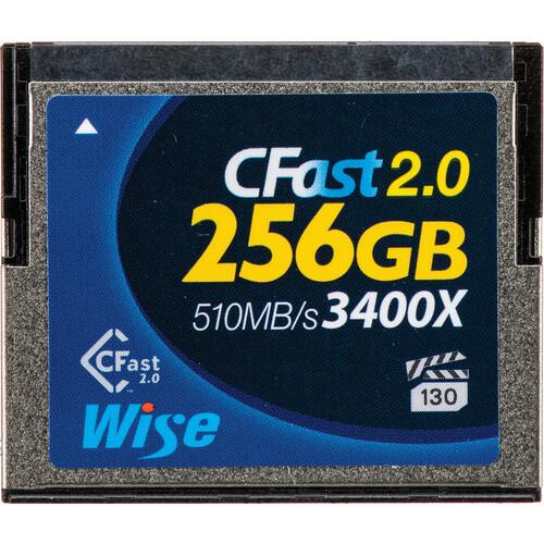 Wise Advanced 256GB CFast 2.0 Memory Card