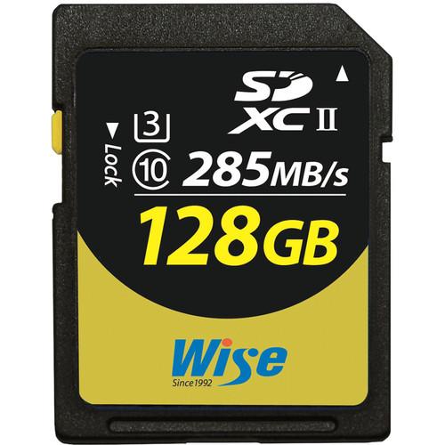 Wise Advanced 128GB UHS-II SDXC Memory Card