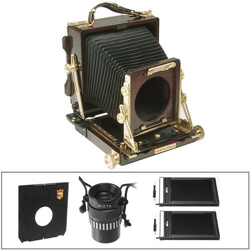 Wista Field-45SW Field Camera Essential Kit (Rosewood)