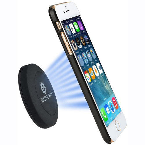 WizGear Universal Flat Stick-On Dashboard Magnetic Smartphone Car Mount