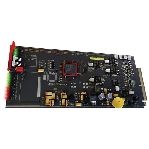 Wohler HDCC-B37 3RU Card
