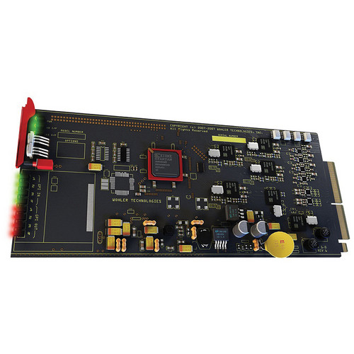 Wohler HDCC-OP47MULTI SD/HD Closed Captioning Board for MC-1RU Rack Frame