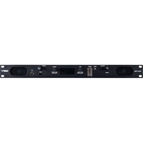 Wohler AMP1-2SDA 2-Channel Stereo Monitor with 3G/HD/SD-SDI, AES, and Analog Inputs (1 RU)