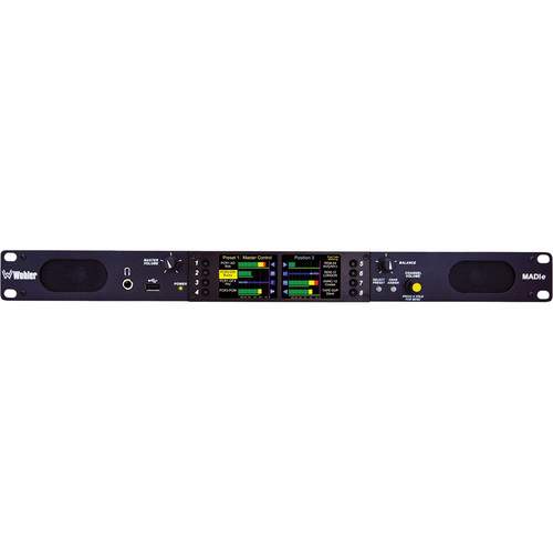 Wohler AMP1-MADIe-MM In-Rack MADI Audio Monitor (Multi-Mode)
