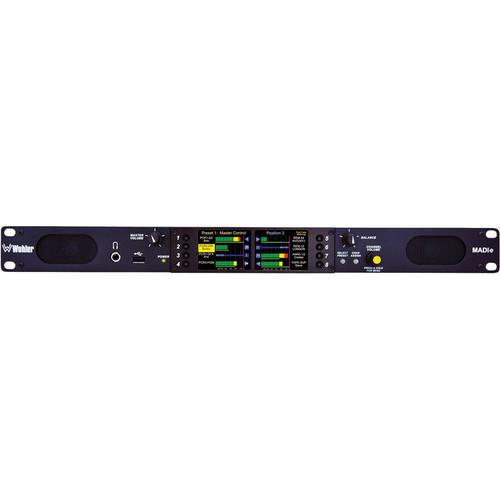 Wohler AMP1-MADIe-SM In-Rack MADI Audio Monitor (Single-Mode)