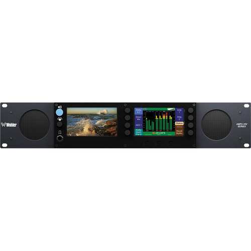 Wohler AMP2-16V-3G 16-Channel Audio / Video Processing Monitor