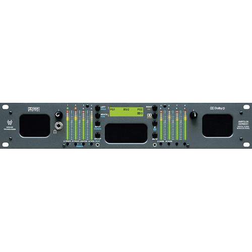 Wohler AMP2-D8-MDA 8-Channel Audio Monitor with Dolby AC3