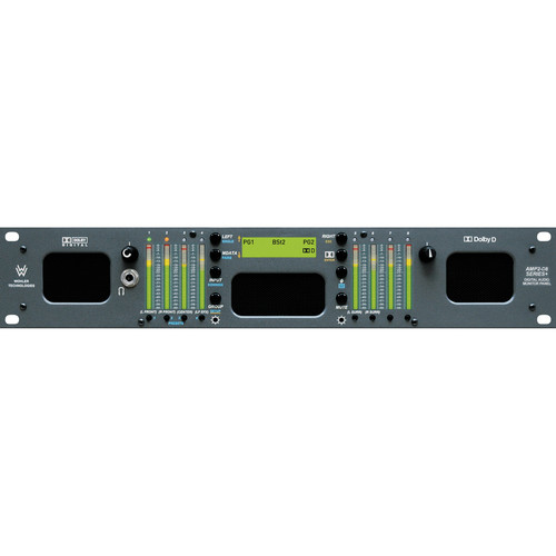 Wohler AMP2-D8DA 8-Channel Audio Monitor with Dolby AC3