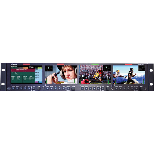 Wohler DVM-2443 Multi-Screen MPEG Monitor