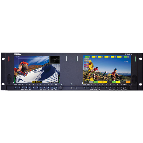 Wohler DVM-3270 Multi-Screen MPEG Monitor