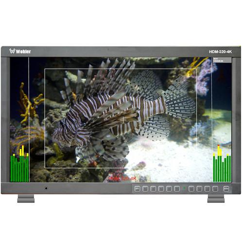 "Wohler HDM-320-4K-TT 32"" UHD 4K 3G-SDI Broadcast Monitor (Tabletop)"