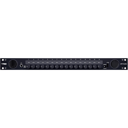 Wohler i AM-AUDIO-116-S 3G/HD/SD-SDI Analog/AES/MADI Monitoring with 16 Selectable Summing Output Controls