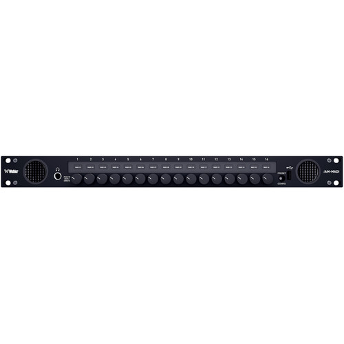 Wohler iAM-MIX-16-SDA-E - 3G/HD/SD-SDI, Analog, AES & MADI Monitoring w/ Dolby (16 Channel)