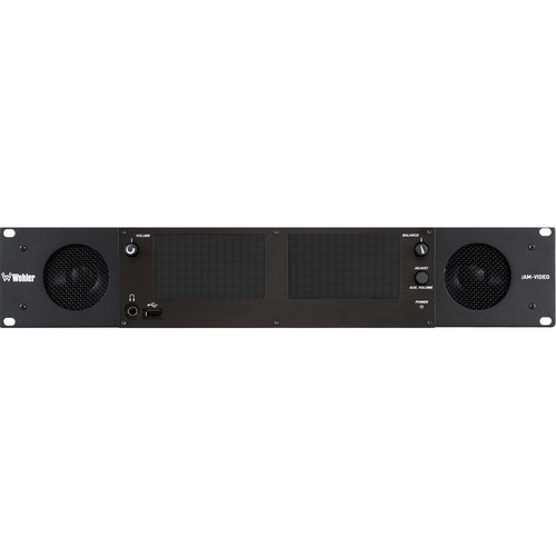 Wohler Multi-Channel Audio & Video Monitor with MPEG-4/MPEG-2 Interface