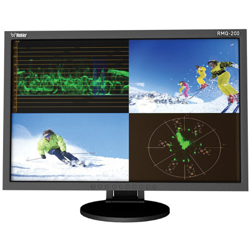 "Wohler RMQ-200-SD 20"" Diagonal Quad Split LCD Monitor"