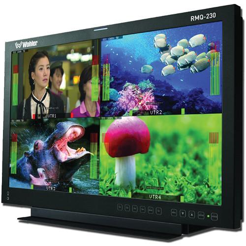"Wohler RMQ-230-A 23"" Diagonal Quad Split LCD Monitor"