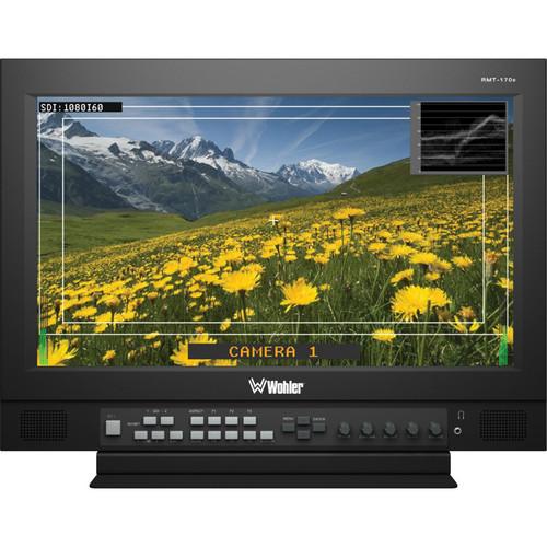 """Wohler RMT-170E-SD 17"""" SD-SDI LCD Video Monitor"""