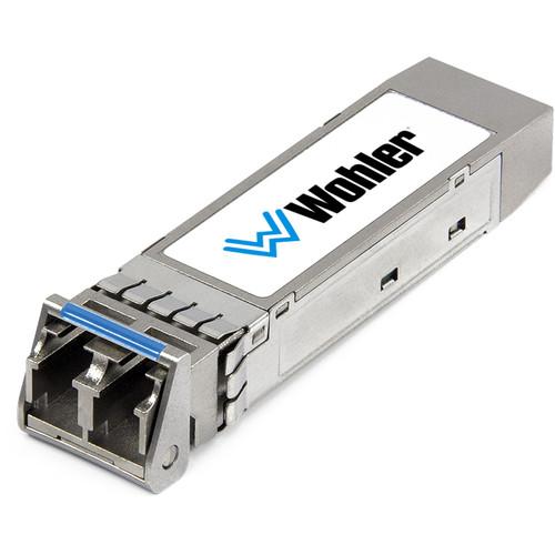 Wohler SMTPE 2110 or 2022-6 Receiver MM 850 NM, LC Fiber Connectors SFP Module with Software Activation Key