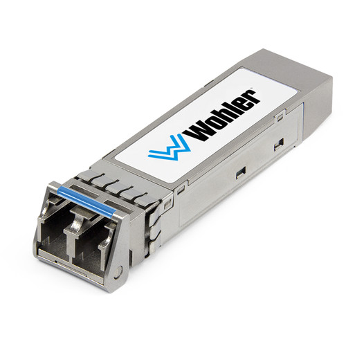 Wohler SMPTE 2110 Multi-Mode LC 850nm SFP Receiver Module with Software Activation Key