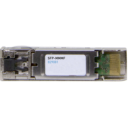 Wohler SFP-MMMF MADI Multi-Mode Fiber Transceiver with LC Connectors, Software, and GUI License