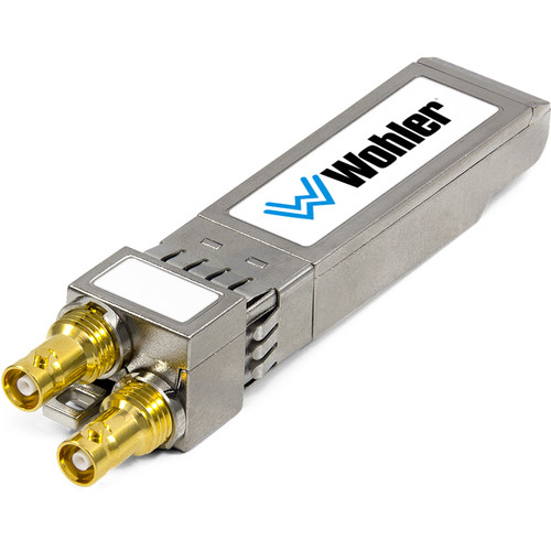 Wohler 3G/HD/SD-SDI Dual Receiver, HD-BNC Connectors, SFP Module with Software Activation Key