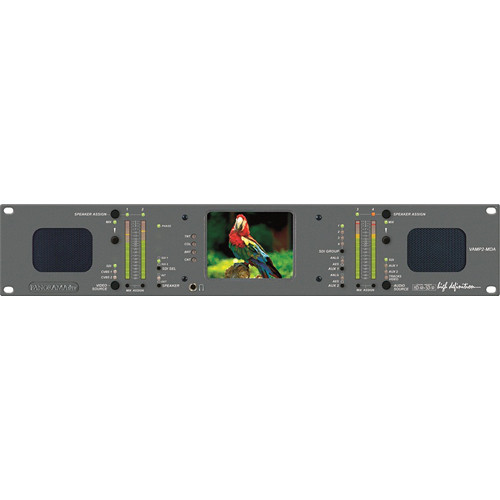 Wohler VAMP2-MDA 4-Channel HD/SD-SDI Audio Video Monitor