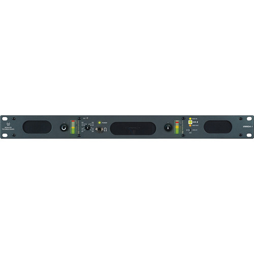 Wohler VMMDA-1 2-Channel HD/SD-SDI, AES, and Digital / Analog Audio Monitoring Unit (1 RU)