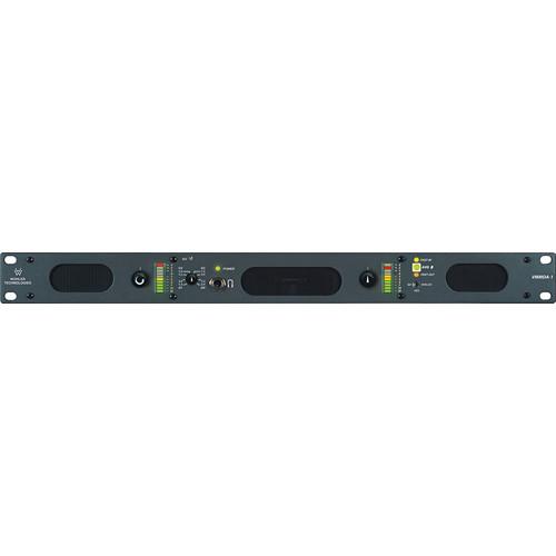 Wohler VMMDA-1 2-Channel HD/SD-SDI, AES, and Digital / Analog Audio Monitoring Unit (1 RU)