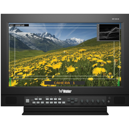 "Wohler RMT-200-HDR 20.1"" Rack-Mount LCD Monitor"