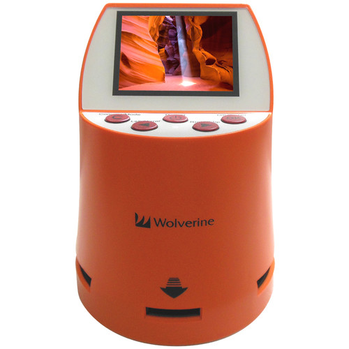 Wolverine Data F2D Mighty 7-in-1 Film to Digital Converter (Orange)