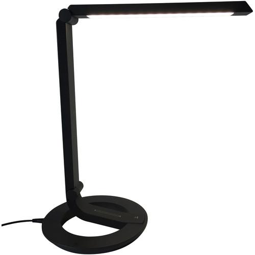 Wolverine Data Modern LED Table Lamp (Black)