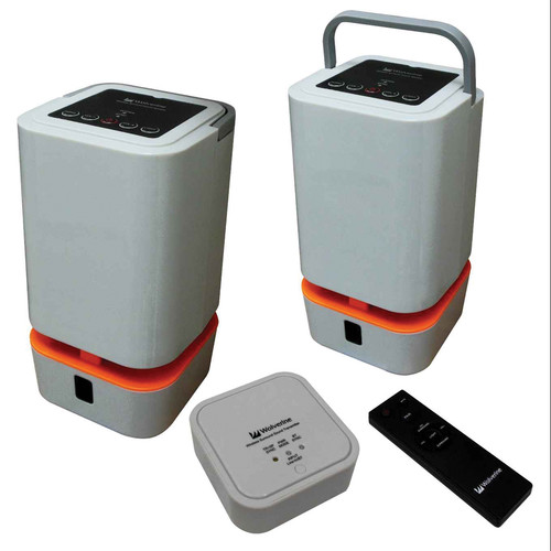 Wolverine Data WIOS-5.8 Indoor/Outdoor Wireless Speaker System
