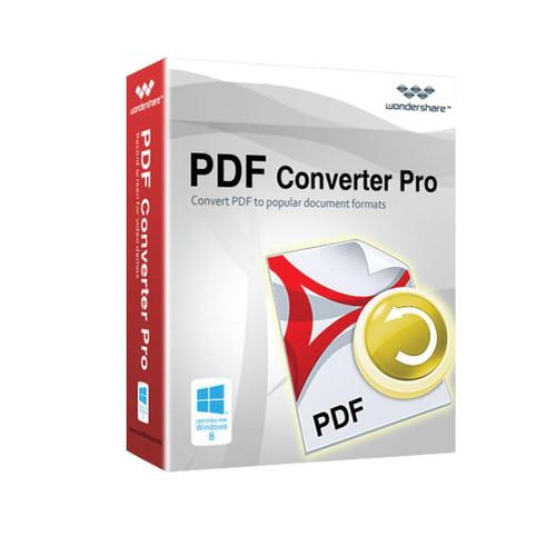 Wondershare PDF Converter Pro v4 for Windows (Download)