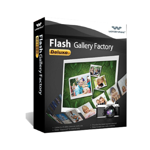 Wondershare Flash Gallery Factory Deluxe v5 (Download)