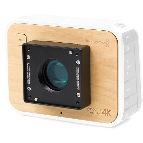 Wooden Camera Blackmagic Production Camera 4K Modification to RED Epic/Scarlet Mount