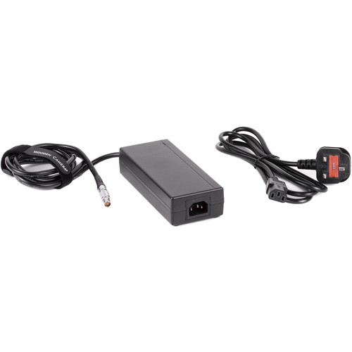 Wooden Camera 15V Power Supply with UK Power Cord for Select RED Cameras