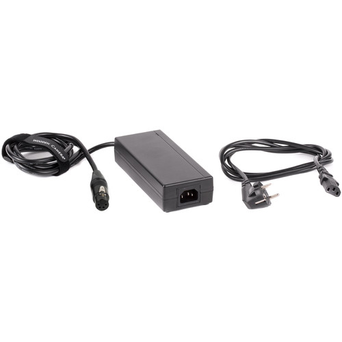 Wooden Camera 15V 4-Pin XLR Female Camera Power Supply with EU Power Supply