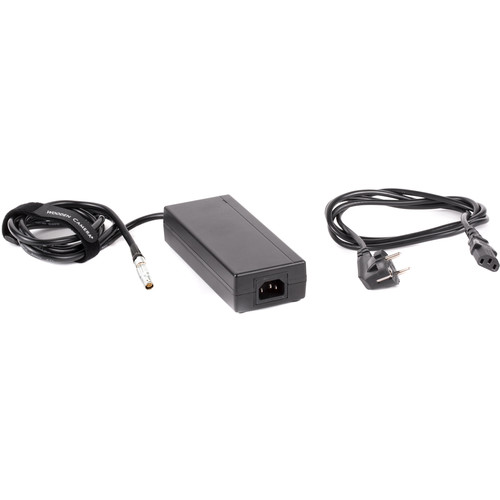 Wooden Camera 15V Power Supply with EU Power Cord for Canon C300 Mark II Camcorder