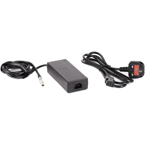 Wooden Camera 15V Power Supply with UK Power Cord for Canon C300 Mark II Camcorder