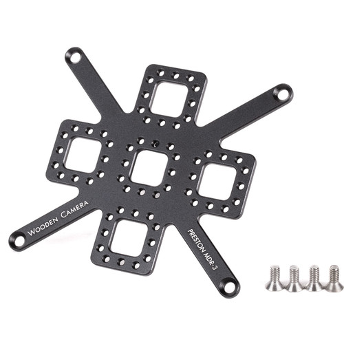 Wooden Camera Mounting Plate for Preston MDR3 Control Unit