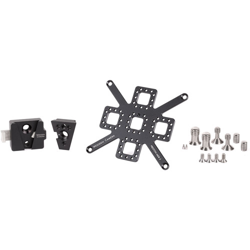 Wooden Camera V-Lock Accessory Mount Kit for Preston MDR3 Control Unit