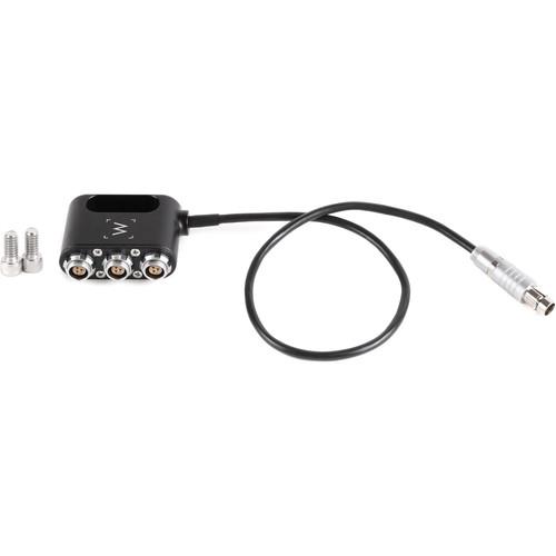 Wooden Camera 1 to 3 Mini Power Splitter (3-Pin Fischer)