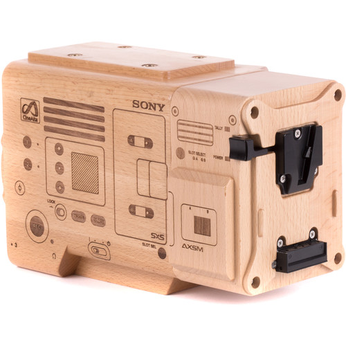 Wooden Camera Wood Model of Sony VENICE and AXS-R7 Recorder