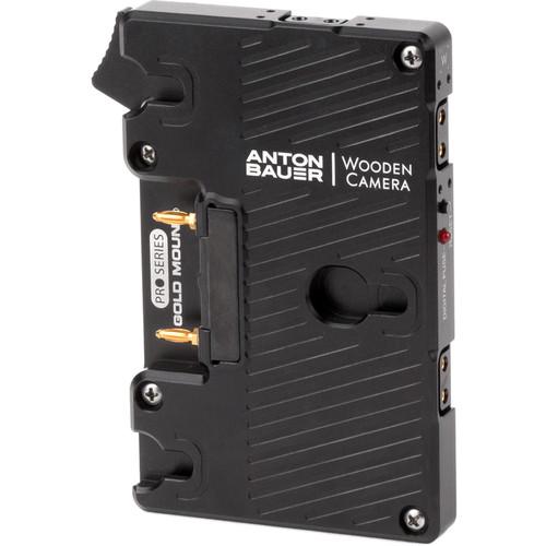 Wooden Camera Wooden Camera - WC Pro Gold Mount (Blackmagic URSA Mini, URSA Mini Pro, URSA)