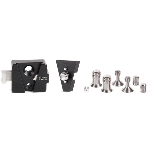 """Wooden Camera V-Lock Base Station and Wedge Kit (ARRI Accessory Mount 3/8""""-16)"""