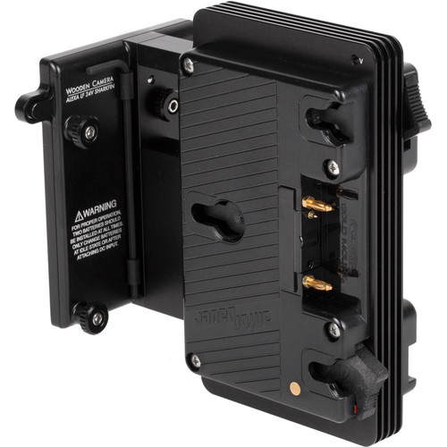 Wooden Camera Wooden Camera - Arri Alexa LF 24V Sharkfin Battery Bracket (Gold Mount)