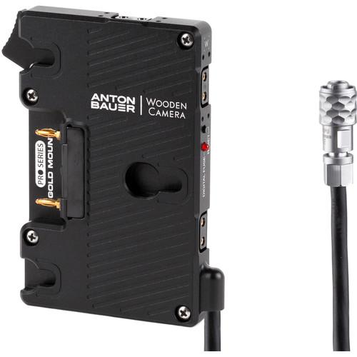 Wooden Camera Pro Gold Mount Battery Plate for Blackmagic Pocket Cinema Camera 4K/6K