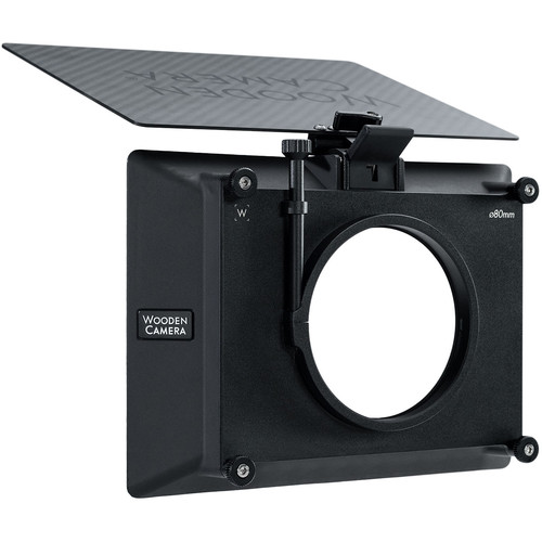 "Wooden Camera Zip Box Pro 4 x 5.65"" Matte Box (80mm, Clamp-On)"