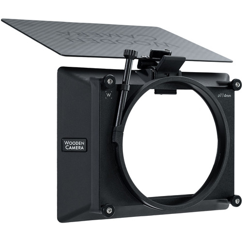 "Wooden Camera Zip Box Pro 4 x 5.65"" Matte Box (114mm, Clamp-On)"